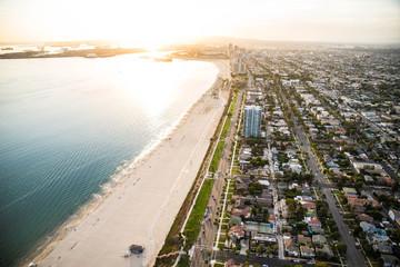 Los Angeles coastline