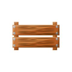 empty wooden box vector icon illustration graphic design