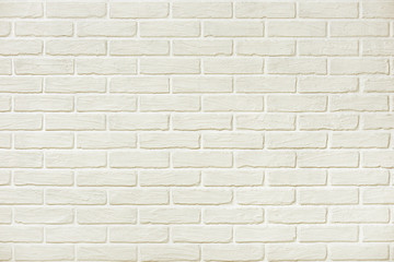 white brick wall background photo, yellow toned