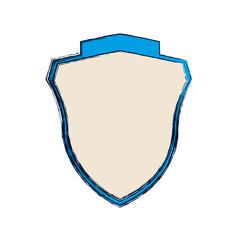 crest emblem five stars vector icon illustration graphic design