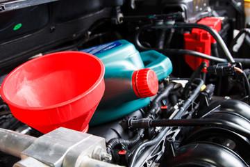 Change car engine oil