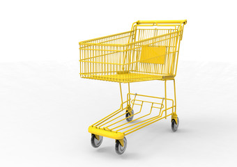 gold Shopping cart