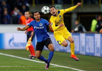 Football Soccer - Club Brugge v FC Porto - UEFA Champions League Group Stage