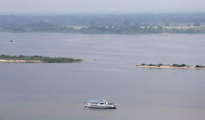 A general view of the Volga river in Nizhny Novgorod, Russia