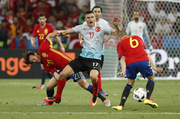 Spain v Turkey - EURO 2016 - Group D