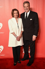 Nancy Pelosi and Paul Pelosi attend the 2017 MusiCares event in Los Angeles