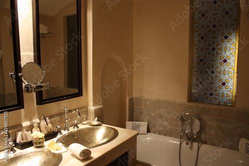 Salle de bain en Tadelakt\