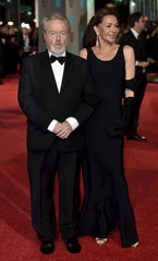 Ridley Scott and his wife Giannina Facio arrive at the British Academy of Film and Television Arts (BAFTA) Awards at the Royal Opera House in London