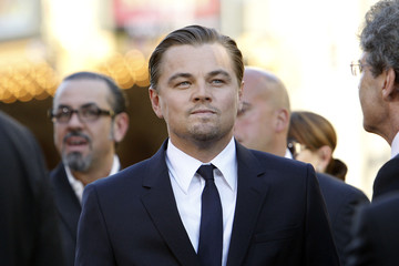 """DiCaprio attends the premiere of """"Inception"""" at the Grauman's Chinese theatre in Hollywood"""