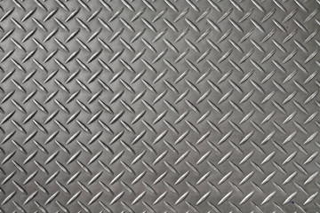 Iron diamond plate background and texture.
