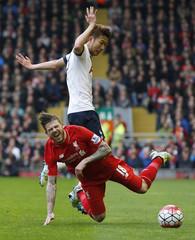 Liverpool v Tottenham Hotspur - Barclays Premier League