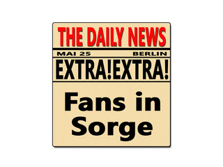 Fans in Sorge
