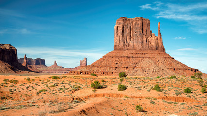 Arizona landscape, Monument Valley.