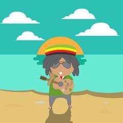 man vacation