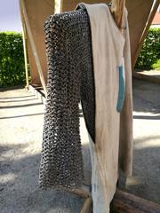 Kettenhemd für Ritter im Mittelalter