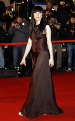 Canadian singer Jepsen arrives at the Cannes festival palace to attend the NRJ Music Awards in Cannes