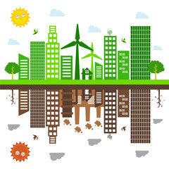 green living illustration