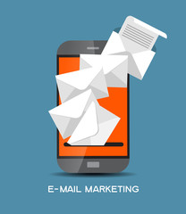 Email marketing template