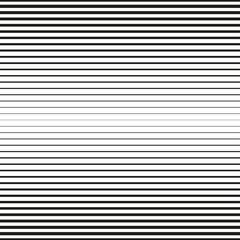 Seamless halftone background. Horizontal lines repeatable pattern.