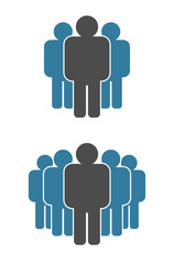 leader teamwork icon