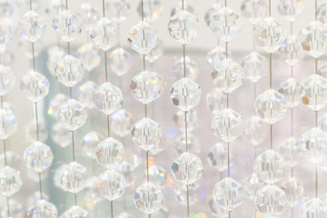 Hanging crystal balls
