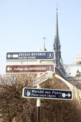 Wall Mural - Signpost in Paris