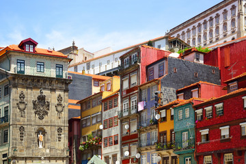 Wall Mural - Houses in Porto