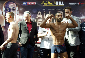 Kell Brook & Kevin Bizier Weigh-In