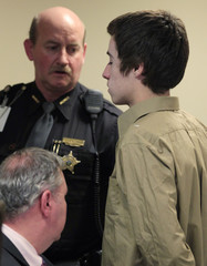 Lane leaves juvenile court hearing to determine whether he will be tried as an adult in Chardon