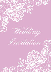 Wedding cards set