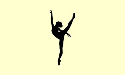 Ballerina Female Dancer Pose