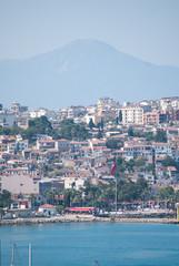 Kusadasi, Turkey, city view
