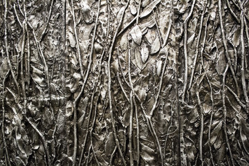 Tin metal surface