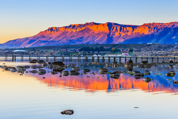 Puerto Natales in Patagonia, Chile.