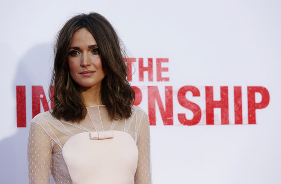 """Cast member Byrne poses at the premiere of """"The Internship"""" in Los Angeles"""