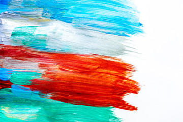 abstract pattern with multicolored oil paintings texture