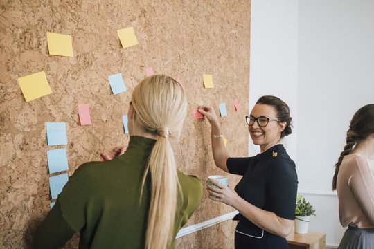 Women Making Business Notes