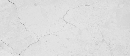 High quality white marble with natural pattern.