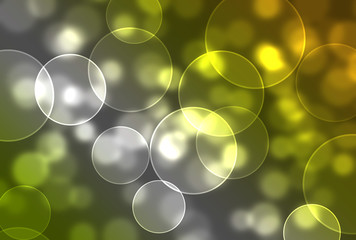 Colorful Bokeh/Bubble Abstract Effect Background