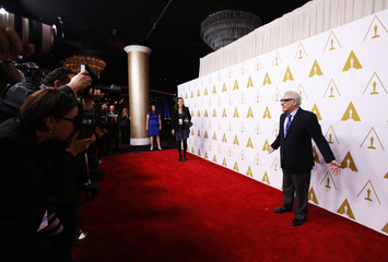 Martin Scorsese arrives at the 86th Academy Awards nominees luncheon in Beverly Hills