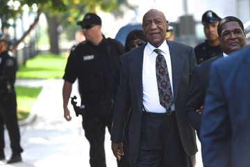 Actor and comedian Bill Cosby arrives at the Montgomery County Courthouse for a pre-trial hearing on sexual assault charges in Norristown, Pennsylvania