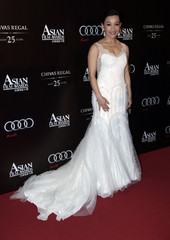 Chinese actress and director Joan Chen arrives for the Asian Film Awards in Hong Kong