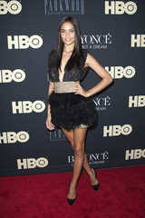 "Shanina Shaik attends HBO's New York premiere of the documentary ""Beyonce - Life is But a Dream"" in New York"