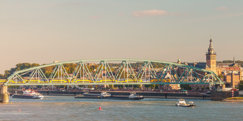 Panoramic view of the Dutch city of Nijmegen