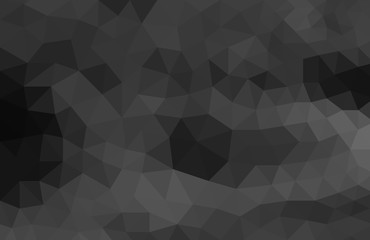 abstract geometric black background