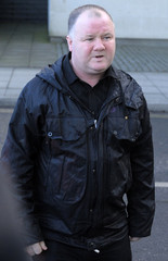 Wayne Rooney Senior, father of Manchester United striker Wayne Rooney, arrives at the Manchester Civil Justice Centre in Manchester