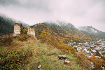 Borjomi, Samtskhe-Javakheti, Georgia. Famous Local Landmark Is G