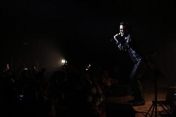 Moroccan soul singer Vigon performs at the 11th Mawazine World Rhythms music festival in Rabat