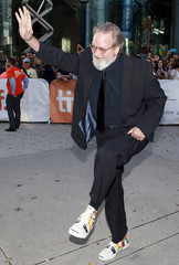 """Director Jeremiah Chechik arrives for the """"The Right Kind of Wrong"""" gala screening at the 38th Toronto International Film Festival"""