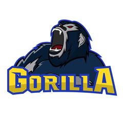 Gorilla logo mascot